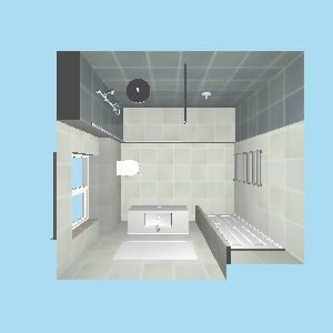 Luxury wet room at curtis brothers for Small bathroom design principles